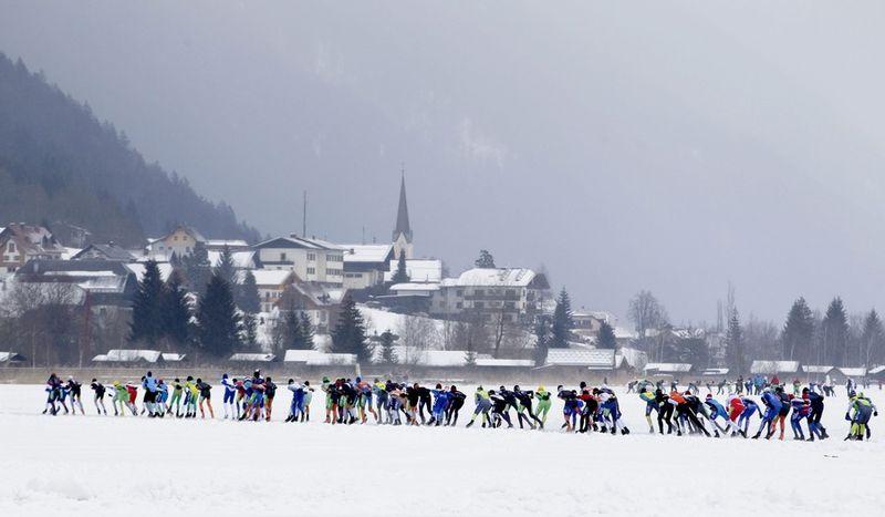 Marathon schaatsen